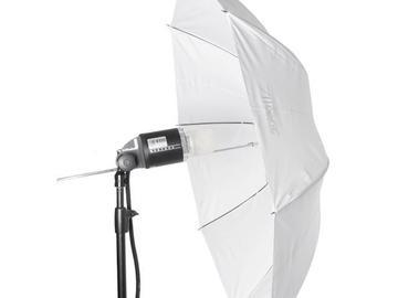 Rentals: Umbrella 110cm transparent M