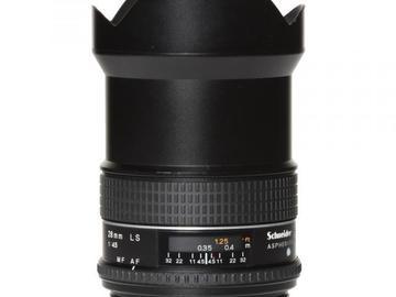 Rentals: Phase One Lens  28mm 4,5 AF LS