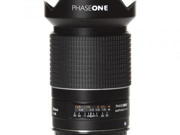 Rentals: Phase One Lens  28mm/4,5 AF