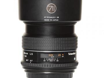 Rentals: Phase One Lens  80mm 2,8 AF LS