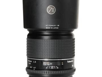 Rentals: Phase One Lens 110mm 2,8 AF LS