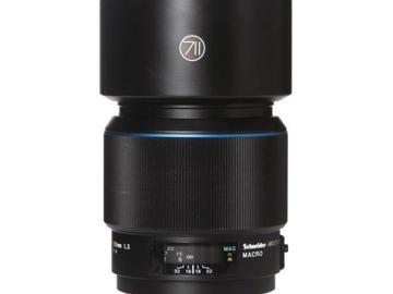 Rentals: Phase One Lens 120mm 4,0 AF LS Macro Blue ring