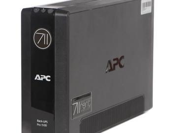 Rentals: APC Back-UPS Pro 1500VA USV