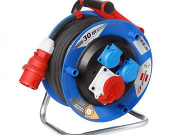 Rentals: CEE 16 A powercord reel 25m