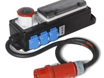 Rentals: CEE 32 A distributor to 16 A / 6x powercord fused