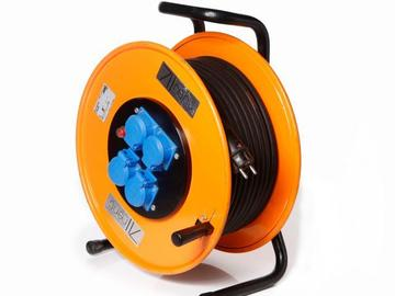 Rentals: Extension Powercord Roll out 40m