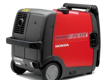 Rentals: Powergenerator Honda 3kW 30is new / 5,8 litre
