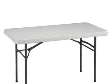 """Rentals: Table """"Bankett"""" 180x76cm"""