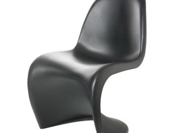 "Rentals: Chair ""Verner Panton"" Black"