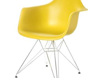 "Rentals: Chair ""vitra Eames"" yellow"