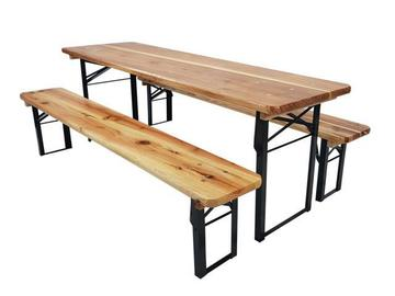 Rentals: Beer tent set (2x bench, 1x table)