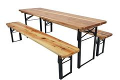 Rentals: Beer tent set (2x bench, 1x table)