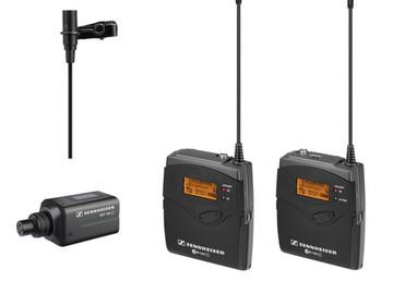 Rentals: Sennheiser ew 100-ENG G3 lav microphone PAIR with full kit