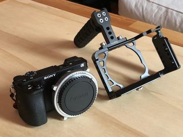 Rentals: Sony A6500 + EF Metabones Speedbooster + SmallRig Cage