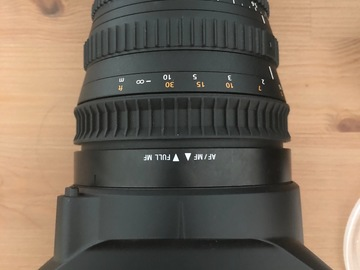 Rentals: Sony cinematic lens