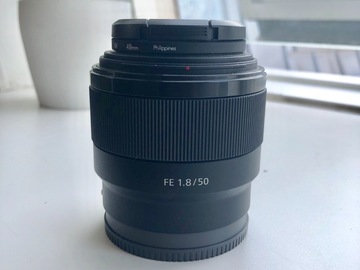 Rentals: Sony 50mm 1.8 E Mount Lens