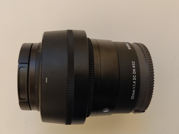 Rentals: Sigma 30mm F1.4 - Sony E mount