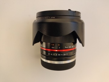 Rentals: Samyang 12mm F2.0 - Utra Wide Angle - Sony E Mount