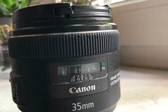 Rentals: Canon 35mm f/2.0