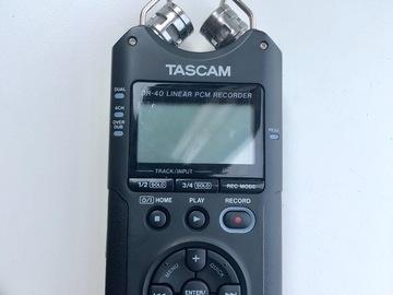 Rentals: Tascam DR40 Audio Recorder