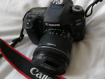 Rentals: Canon 80D  (18-55mm)