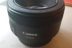 Rentals: Canon EF Lens 50mm f1.8 objektiv lens macro
