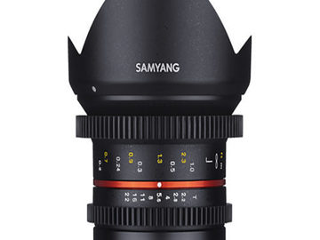 Rentals: Samyang 12mm T2.2 Cine for MFT