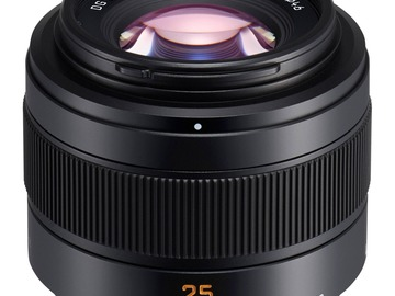 Rentals:  Panasonic Leica DG Summilux 25mm f/1.4 II ASPH for MFT