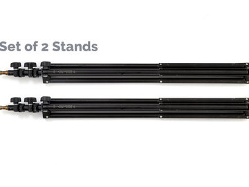 Rentals: Manfrotto Compact Stand MA052B Lampenstativ klein 2X SET