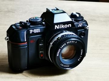 Rentals: Nikon f501 AF analog + Nikkor E series 50mm f:1,8