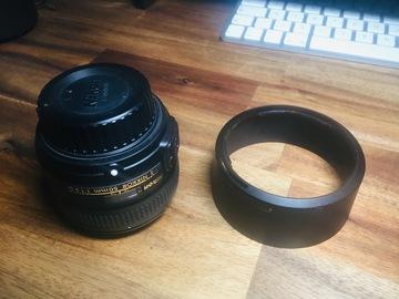 Rentals: Nikon AF-S NIKKOR 50mm F 1.8 Objektiv