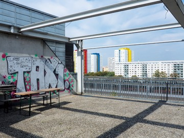 Studio/Spaces: Skyline Point Berlin - open air roof studio