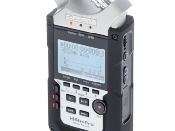 Rentals: H4n Pro Zoom Record (incl. batteries)