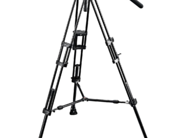 Rentals: Manfrotto Video Tripod Kit incl. 504HD Fluid Head