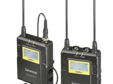 Rentals: Sarmonic Wireless Lapel Mics UWMic9 Transmitter & Receiver