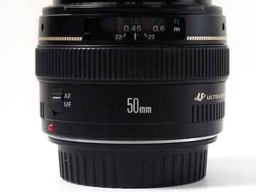 Rentals: CANON EF 50mm f1,4 USM