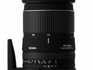 Rentals: Sigma 135-400mm f4,5-5,6 APO für Canon
