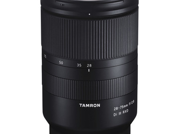 Rentals: Tamron 28-75mm F/2.8 Di III RXD for Sony E