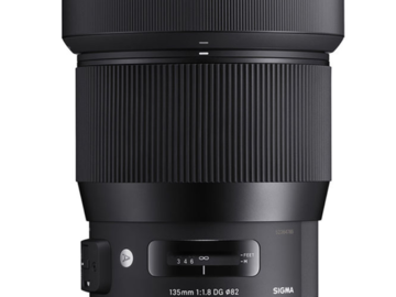 Rentals:  Sigma 135mm F1,8 DG HSM | Art for Sony E