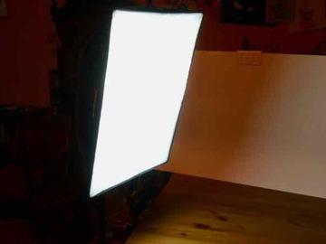 Rentals: 2 x Walimex Daylight 250 with Softbox 40 x 60 cm