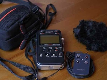 Rentals: Sony PCM-M10 portable audio recorder
