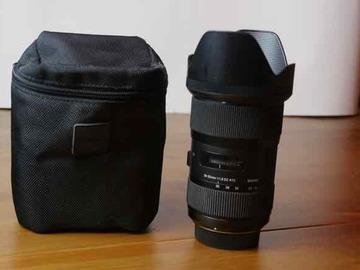 Rentals: Sigma 18-35mm / f1.8 DC HSM zoom, Nikon mount