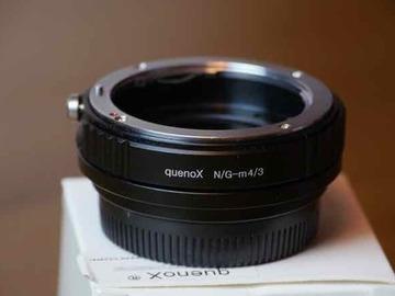 Rentals: Quenox Nikon G - MFT focal reductor adapter