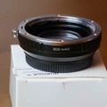 Rentals: Quenox EOS-m4/3 focal reductor adapter
