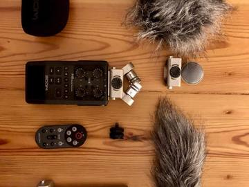 Rentals: Zoom H6 + Mic Capsules