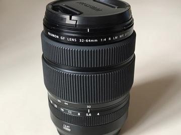 Rentals: Fujifilm Fujinon GF 32-64mm 1:4