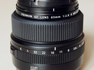 Rentals: Fujifilm Fujinon GF 63mm 1:2.8