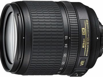 Rentals: Nikon 18-105 mm
