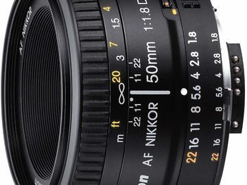 Rentals: Nikon 50mm 1.8 D