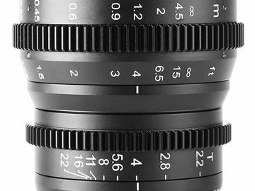 Rentals: Meike 16mm T2.2 Manual Focus Cinema Lens (MFT Mount)